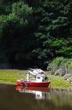 Boot op Rivier Dee, Chester royalty-vrije stock foto