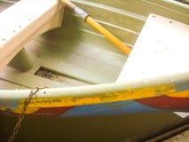 Boot op Water Stock Afbeelding