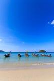 Boot in Phuket Thailand Royalty-vrije Stock Afbeelding