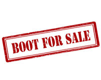 Boot for sale Stock Photo
