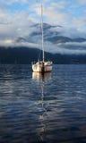 Boot, See Como, Italien Lizenzfreie Stockfotos