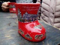 Boot shaped mug Stock Images