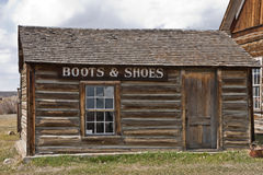 Boot & Shoe Shop Royalty Free Stock Photo