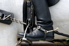 Boot and Stirrup Stock Photography