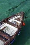 Boot in Str. Ives lizenzfreie stockfotografie