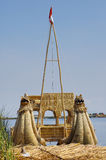 Boot am Titicaca See Lizenzfreie Stockfotografie