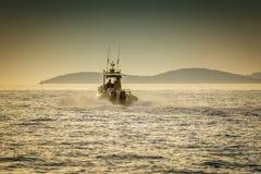 Boot und das Meer Lizenzfreies Stockfoto