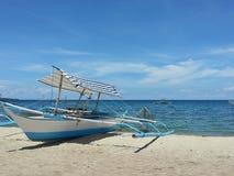 Boot und Himmel Stockbilder