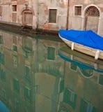 Boot und Reflexion Stockfotografie
