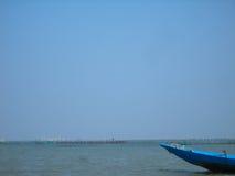 Boot und Wasser Stockfotografie