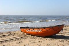 Boot van de Nederlandse badmeestervereniging Stock Afbeeldingen
