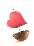 Boot van liefde royalty-vrije stock afbeeldingen