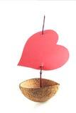 Boot van liefde royalty-vrije stock fotografie
