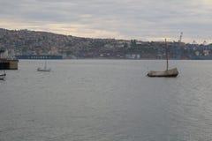 Boot van ValparaÃso Stock Afbeelding