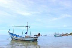 Boot van visser Stock Foto's