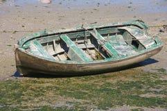Boot verlassen lizenzfreie stockbilder