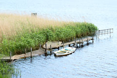 Boot voll des Wassers Lizenzfreie Stockfotografie
