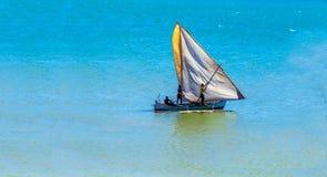 Boot von Madagaskar lizenzfreie stockbilder