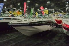Boot Yamahas SX190 auf Anzeige Stockbild