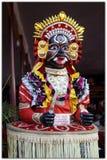 Boota可拉树雕象,南印度 库存图片