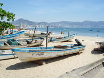 Boote in Acapulco Stockbild