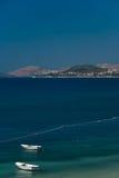 Boote auf adriatischem Meer Stockbilder