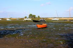 Boote auf dem Meer Lizenzfreie Stockfotos