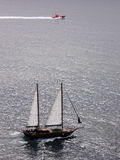 Boote auf dem Meer Lizenzfreie Stockfotografie