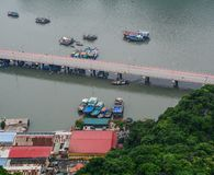 Boote auf dem Meer stockfotografie