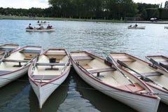 Boote auf dem Wasser Stockfotografie