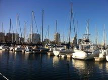 Boote auf dem Wasser Lizenzfreie Stockfotografie