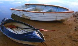 Boote auf der Verdammung Lizenzfreies Stockbild