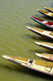 Boote auf Nakki Stockfotos