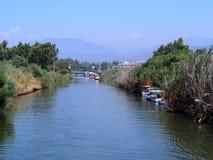 Boote auf Vogelparadies Lizenzfreies Stockbild