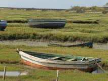 Boote in der Natur lizenzfreie stockfotografie