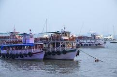 Boote des Bootes und der Yacht Lizenzfreie Stockbilder