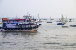 Boote des Bootes und der Yacht Lizenzfreie Stockfotografie