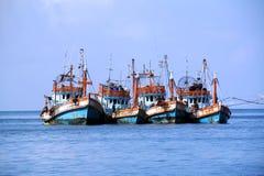 Boote des Fischers Lizenzfreie Stockbilder