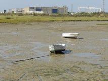 Boote, die nicht navigieren lizenzfreie stockfotos