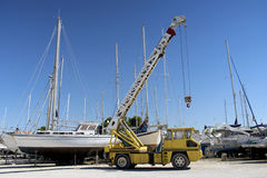 Boote, die 3 parken Stockfotos
