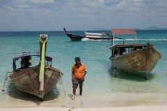 Boote für das Reisen Stockfotografie