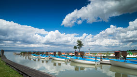 Boote für Miete stockbild