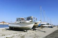 Boote für Verkauf lizenzfreies stockbild