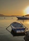 Boote festgemacht Stockfotos