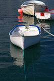 Boote im Hafen lizenzfreies stockbild