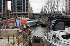 Boote im Hafen Lizenzfreie Stockbilder