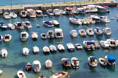 Boote im Jachthafen Lizenzfreies Stockfoto