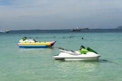 Boote im Meer Lizenzfreies Stockbild