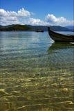 Boote im Ozean Lizenzfreie Stockfotografie