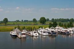 Boote im Wasser Stockfoto